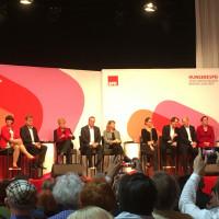 Foto der Bewerber von der Regionalkonferenz in München am 12.10.2019